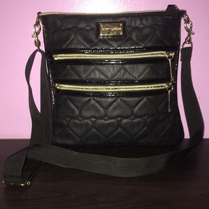 Black Betsey Johnson purse